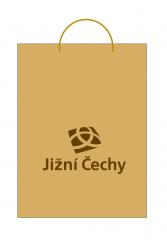 Taška Jižní Čechy papírová malá