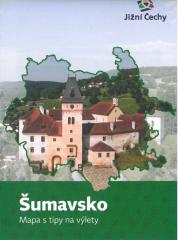 Šumavsko Mapa s tipy na výlety
