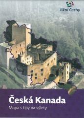 Česká Kanada Mapa s tipy na výlety