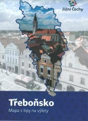 Třeboňsko Mapa s tipy na výlety