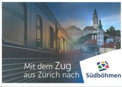 Jižní Čechy - Vlakem z Curychu do Jižních Čech DE