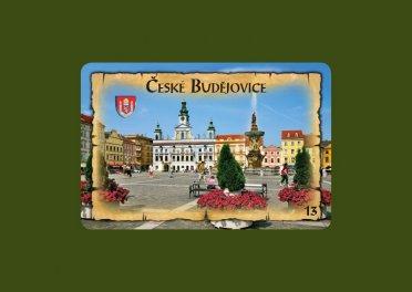Magnetka Č. Budějovice náměstí