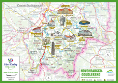 JČP Trhací mapa - NOVOHRADSKO-DOUDLEBSKO