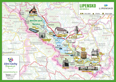 JČP Trhací mapa - LIPENSKO