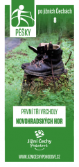 Pěšky po jižních Čechách - 8 PRVNÍ TŘI VRCHOLY…